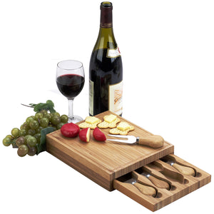 Edam Cheese Board Set-Bamboo