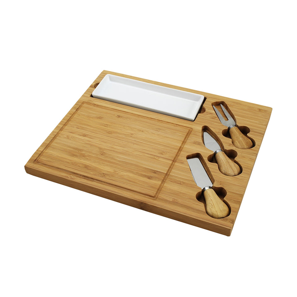 Celtic Cheese Board Set-Bamboo