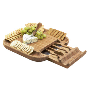 Malvern Cheese Board Set-Bamboo