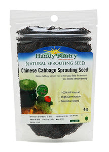 HANDY PANTRY Seeds Sprouting Chinese Cabbage, 4 OZ