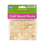 Krafters Korner Natural Wooden Craft Blocks 24-PK