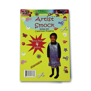 Disposable Children's Artist Smock - Pack of 24