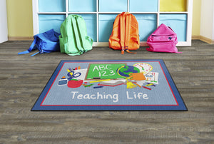 Flagship Carpet  Teaching Life - Blue