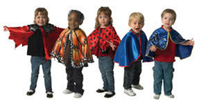 Toddler Dress-Up Capes - Set of 5
