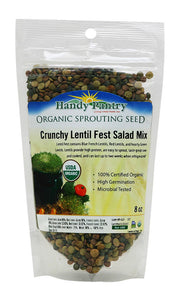 Handy Pantry Crunchy Lentil Fest Sprouting Seeds - 8oz