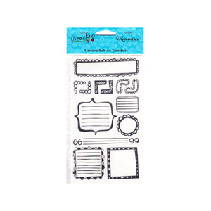 Live Out Loud Journal Creative Rub-on Transfer - Set of 30