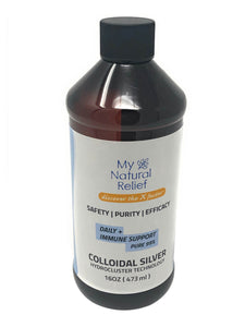 Family Pack Colloidal Silver Liquid Natural Immune System Booster Support Supplement, 16 OZ - 4 Pack