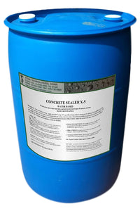 30 gallons of concrete sealer x-5