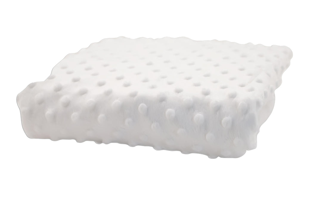 Rumble Tuff Minky Dot Changing Pad Cover - Compact, White - Pack 6
