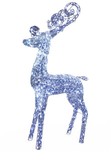 "60"" Crystal Deer"