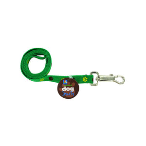 Dog Leash with Paw Print Design - Set of 24