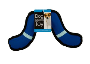 Boomerang Dog Squeak Toy - Pack of 12