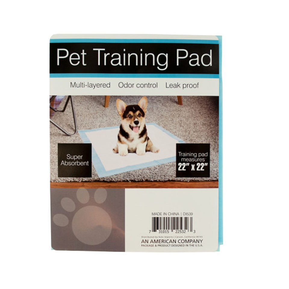 Odor Control Pet Training Pad  - 12 Pack