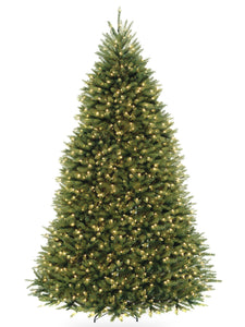 9 ft. PowerConnect Dunhill Fir Tree with Clear Lights