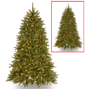 6.5 ft. PowerConnect Dunhill Fir Tree with Dual Color LED Lights