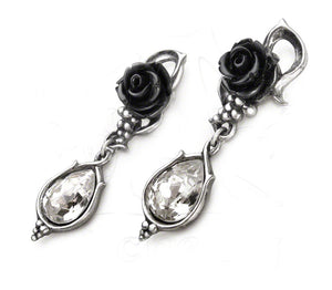 Alchemy Gothic Holiday Occasion Fashion Jewelry Bacchanal Rose Earrings