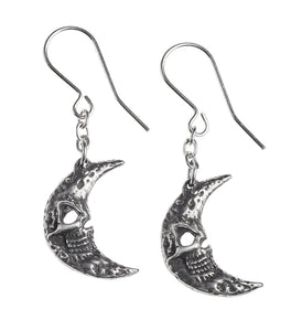 M'era Luna Crescens - Tragicom Moon Earrings