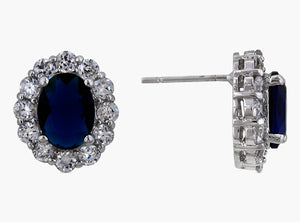 J Goodin Precious Womens Fashion Ornament Royal Wedding Sapphire Earrings