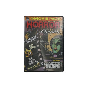 Horror Classics 4-Movie Dvd - Pack of 30