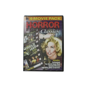 Horror Classics Movie 4-Pack - Pack of 20