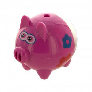 Bulk Buys Pink Piggy Pencil Sharpener - 4 Pack