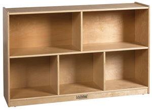 "ECR4Kids Birch 5-Compartment Storage Cabinet, 30""H"