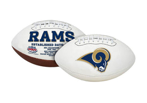 "St. Louis Rams Embroidered Logo ""Signature Series"" Football"