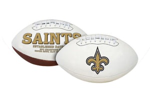"New Orleans Saints Embroidered Logo ""Signature Series"" Football"
