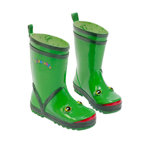 Kidorable Frog Rain Boots Size 5(My 1st)