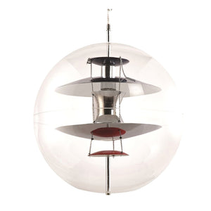 Fine Mod Imports Home Indoor Living Room World Hanging Lamp - Clear