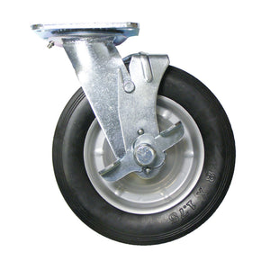 "FR8 - Heavy Duty 8"" Caster Set Foam Rubber"