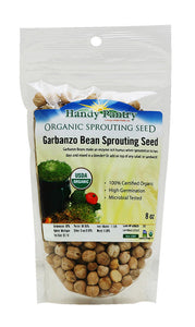 Handy Pantry Garbanzo Sprouting Seeds 8oz