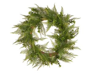 Garden Accents 22in. Boston Fern Wreath