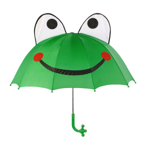 Kidorable green frog umbrellas