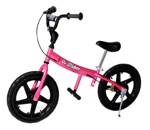 "Glide Bikes Pink Go Glider 16"" with Air Tires & Pedal System"