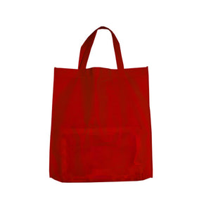 Bulk Buys Red Shopping Tote Pack Of 25
