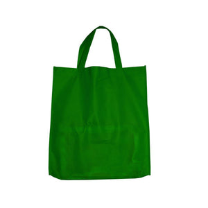 Bulk Buys Green Shopping Tote (Set of 25)