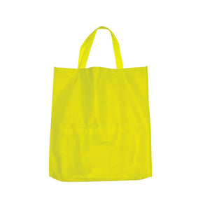 Bulk Buys Yellow Shopping Tote Pack Of 25