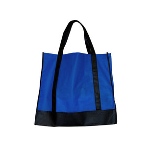 Bulk Buys Blue/Black Shopping Tote Pack Of 25