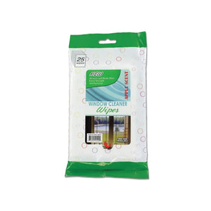 Window Cleaning Wipes - Pack of 12