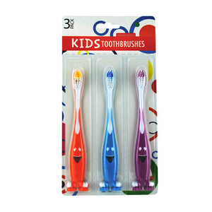 Fun Kids Toothbrush Set - Pack of 12