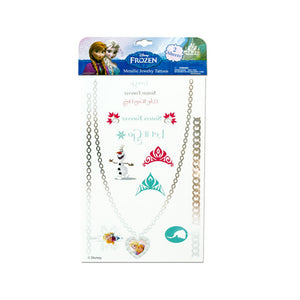 Disney Frozen Metallic Jewelry Tattoos (Pack of 24)
