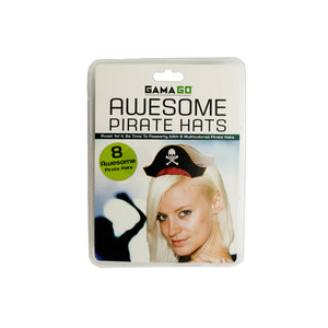 Awesome Pirate Party Hats - Pack of 12