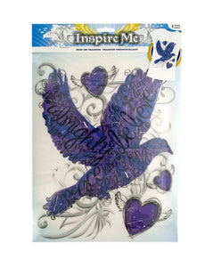 Iron-On Religious Dove Transfer-Package Quantity,30
