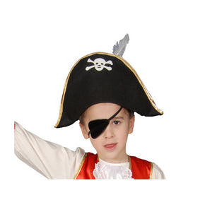 Dress Up America Halloween Party Costume Foldable Pirate Hat - Kids