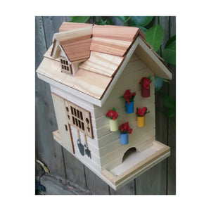 Home Bazaar Potting Shed Bird Feeder - Natural