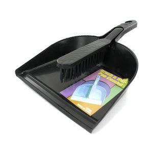 Home Indoor Kitchen Household Accessories Seasonal Gifts Dust Pan And Hand Sweeper Set 12 Pack