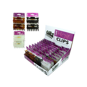 Hair Claw Clip Counter Top Display