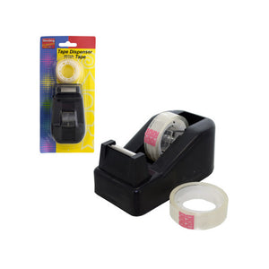 Tape Dispenser With Tape Set - Pack of 12