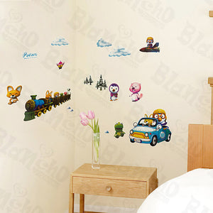 Winter Trip - Wall Decals Stickers Appliques Home Decor